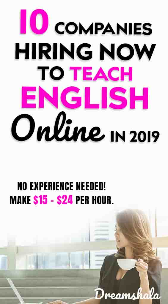 get paid to teach english online