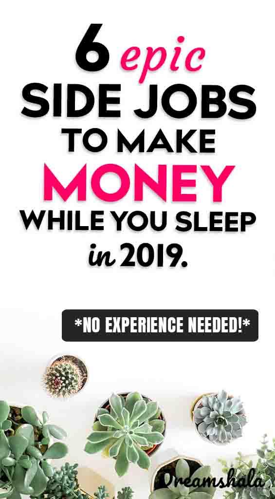 6 epic ways to make money while sleeping
