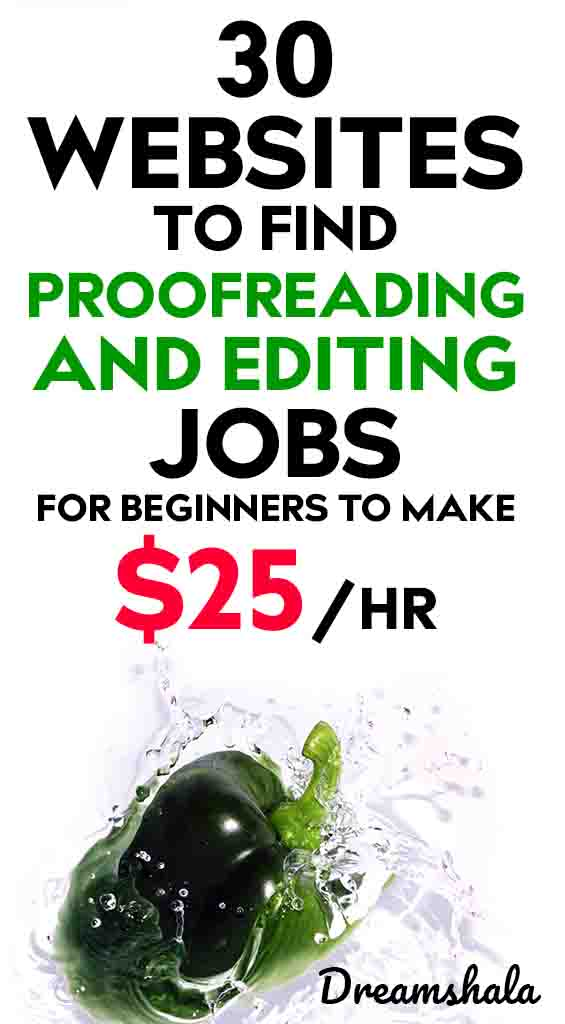 30 websites to find proofreading and editing jobs