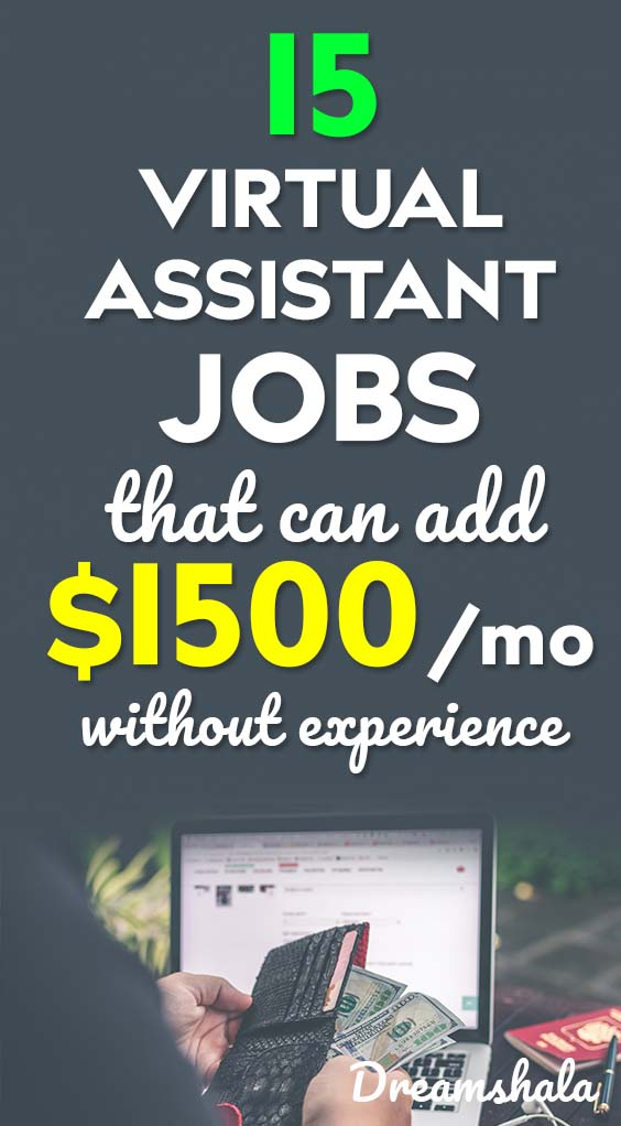 15 virtual assistant jobs that pay well in 2019