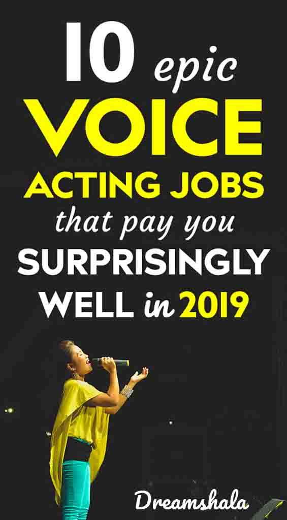 10 voice acting jobs for everyone in 2019