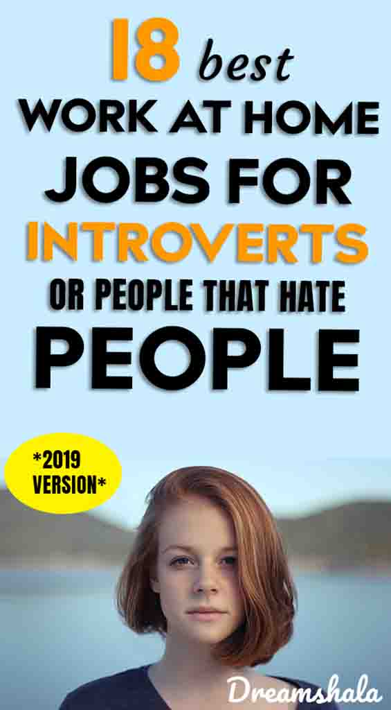 18 legit online jobs for introverts to work from home in 2019