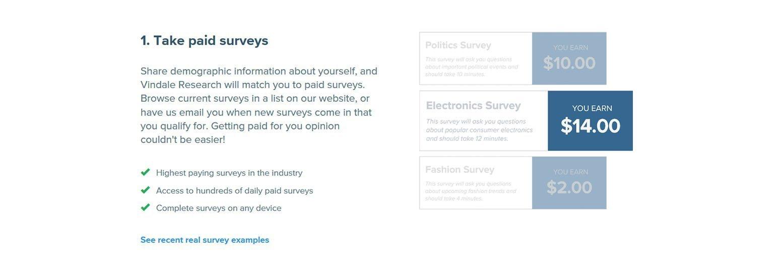 vindale research paid surveys