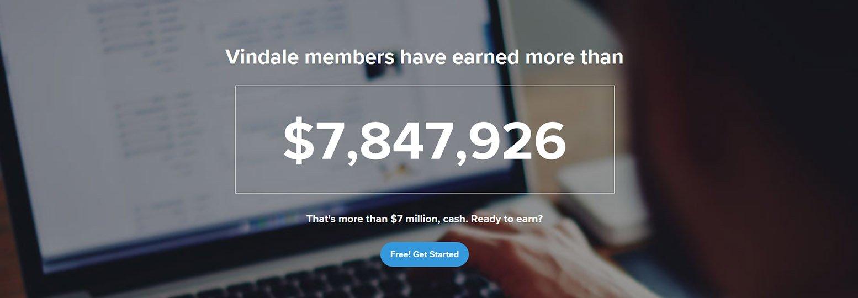 vindale earnings