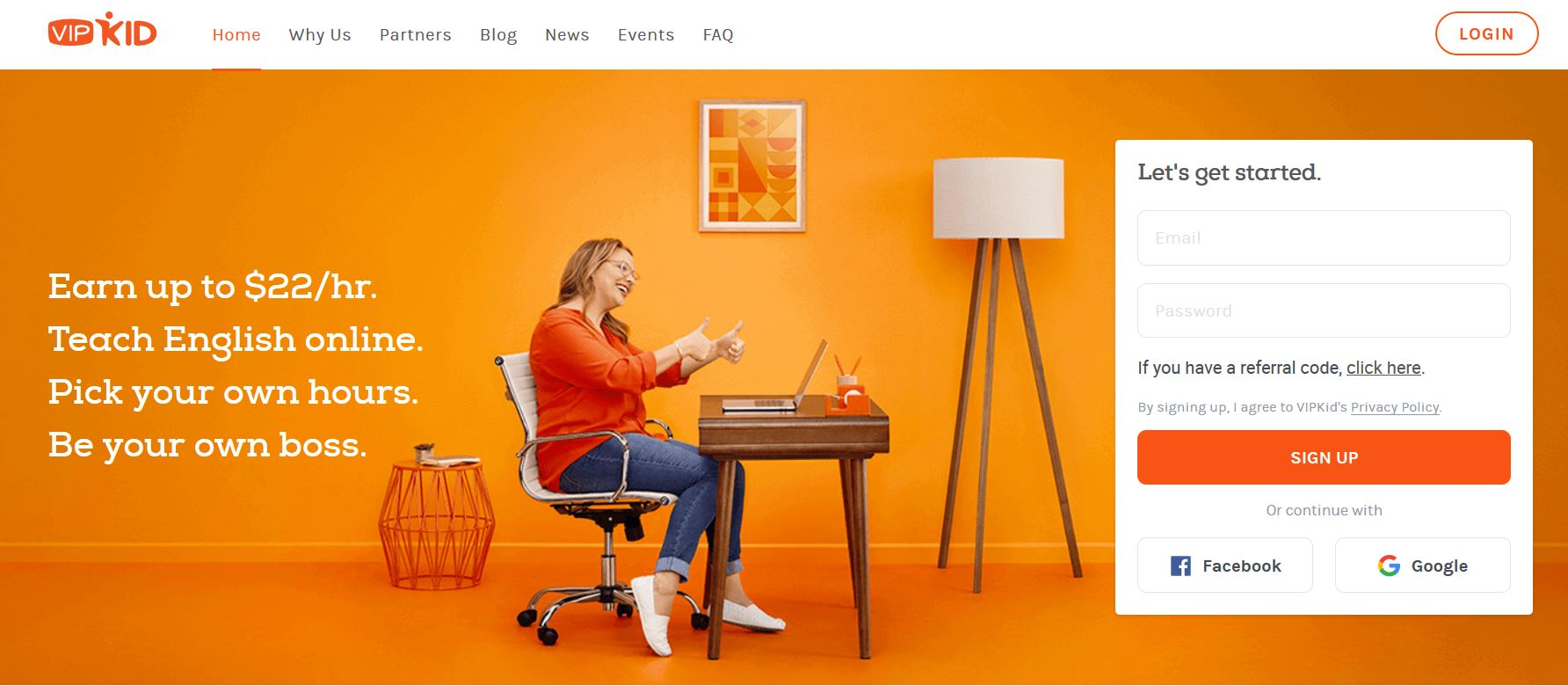 vipkid review - about company