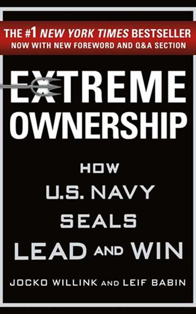 extream ownership - best business books