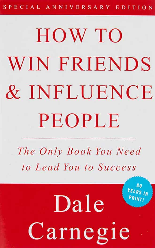 how to win friends and influence people - best business books