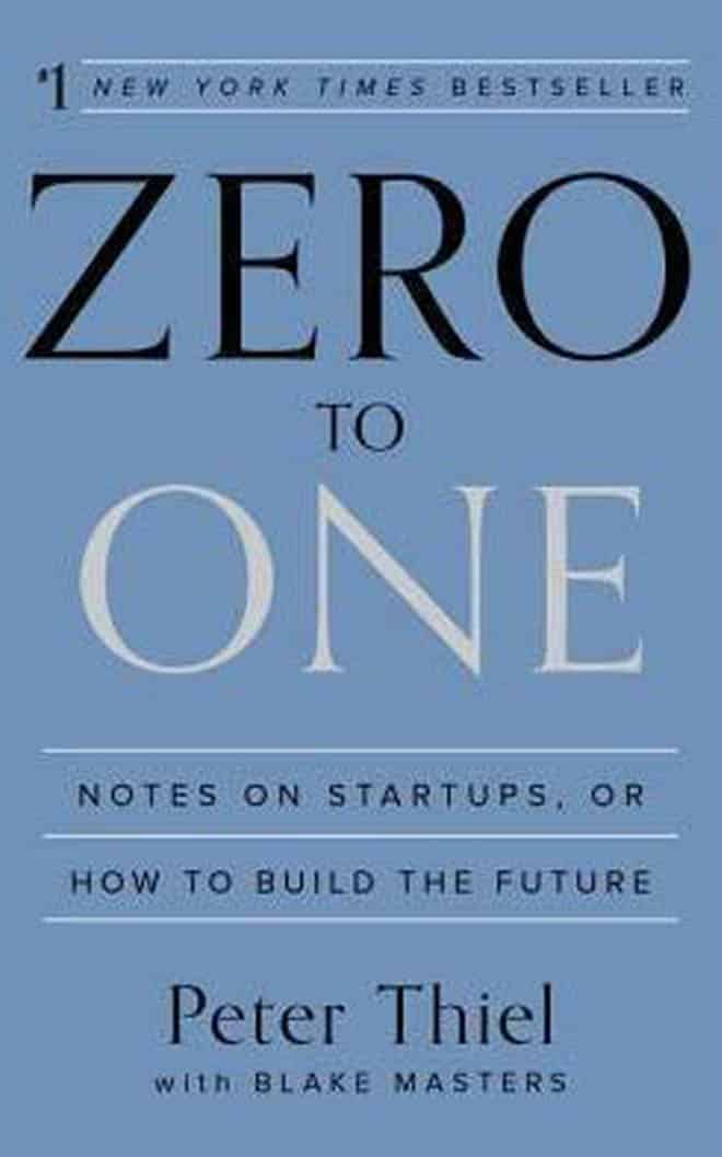zero to one - best business books