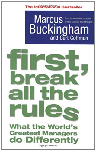 first break all the rules - best business books