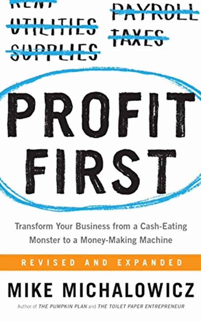 profit first - best business books
