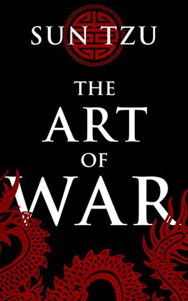 the art of war - best business books