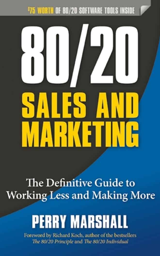 80 and 20 sales and marketing