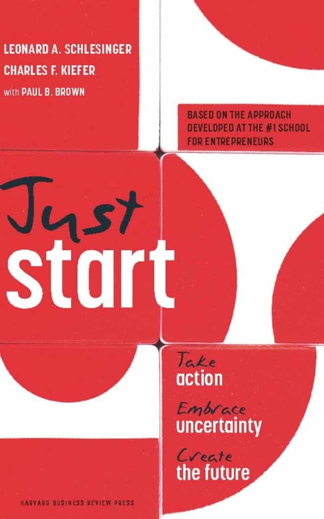 just start take action - best business books