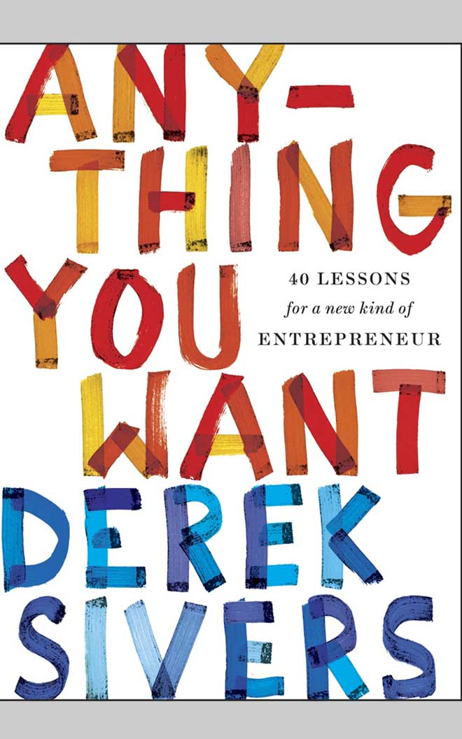 Anything you want - best business books