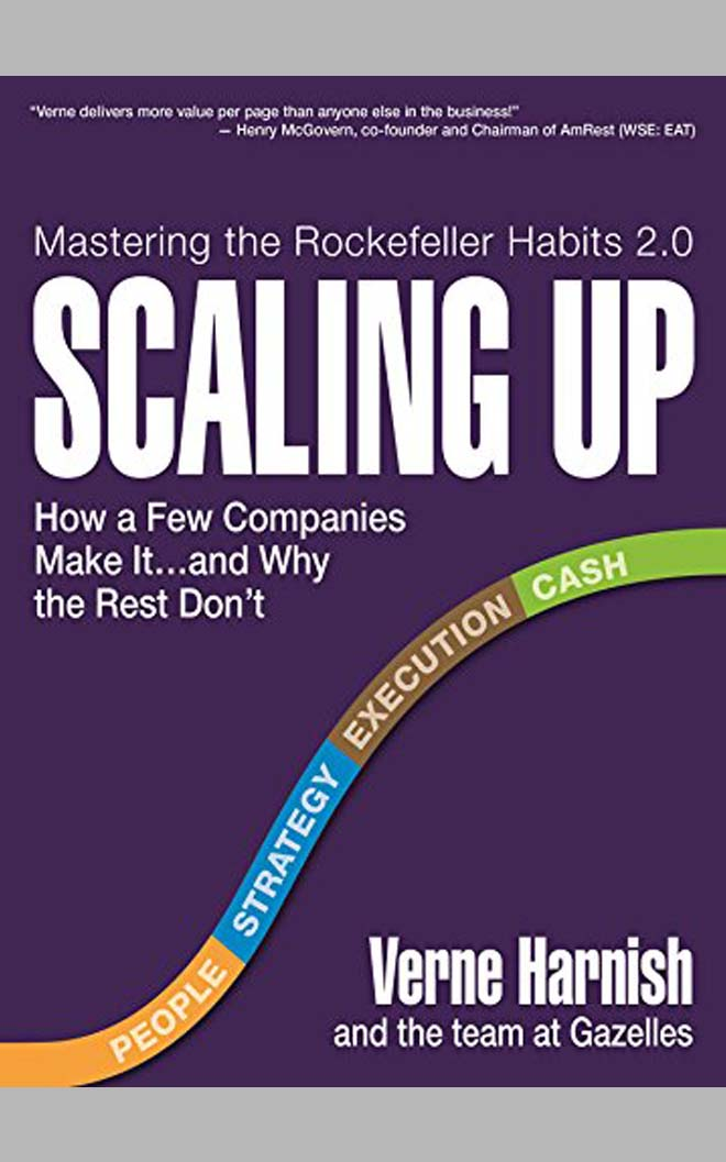 scaling up - best business books
