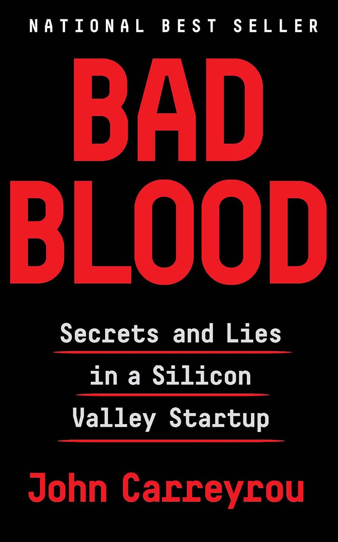 bad blood - best business books