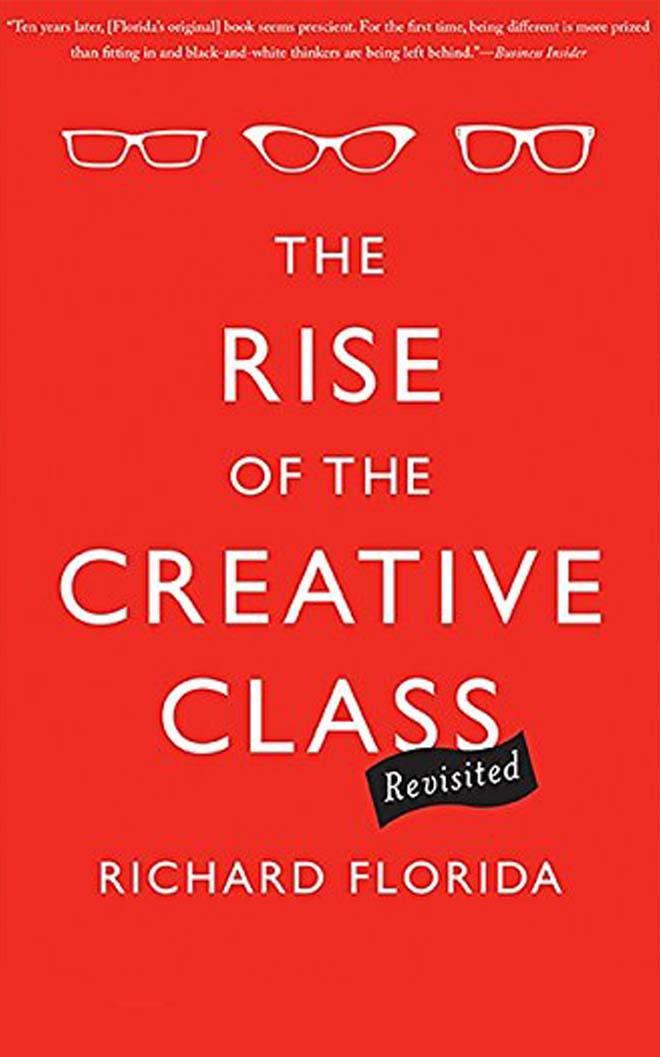 the rise of creative class - best business books
