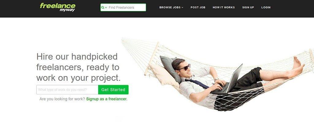 freelancemyway - freelance job sites