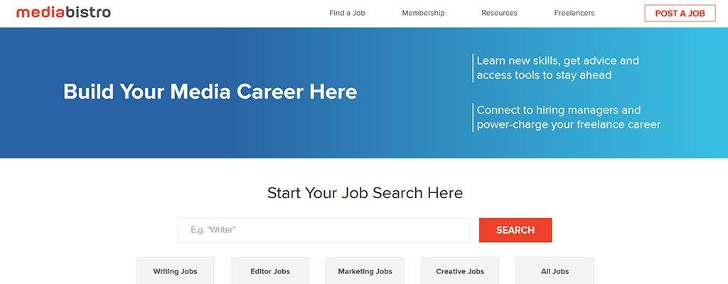 mediabistro - freelance jobs