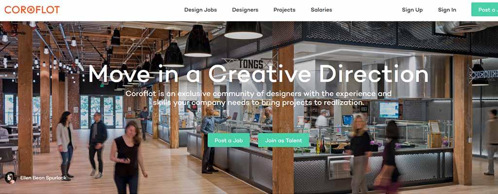coroflot - freelance job sites