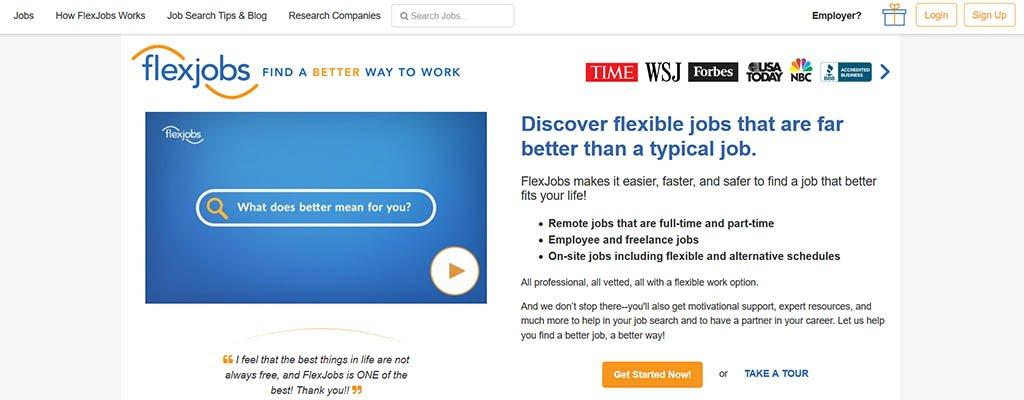 freelance jobs - flexjobs