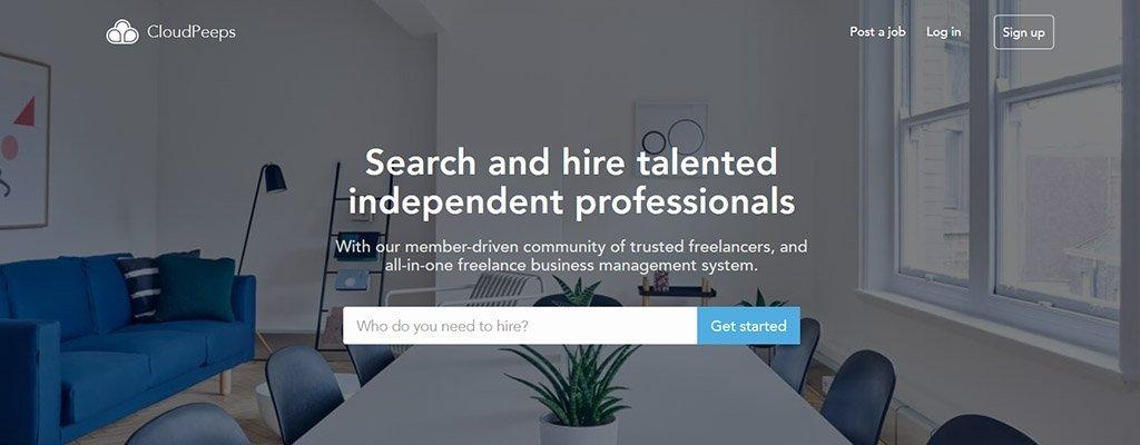 freelance jobs - cloudpeeps