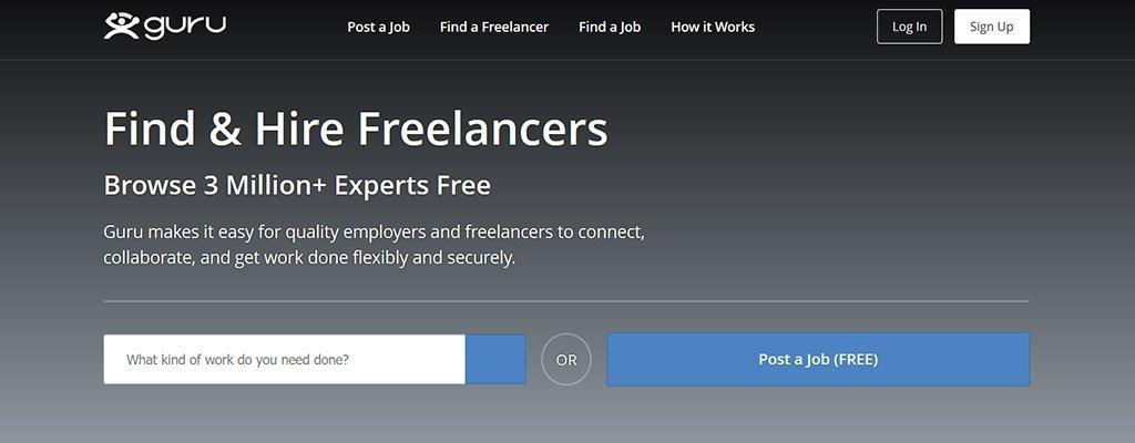 freelance jobs - guru