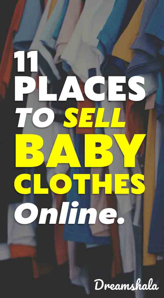 11 places to sell baby clothes online