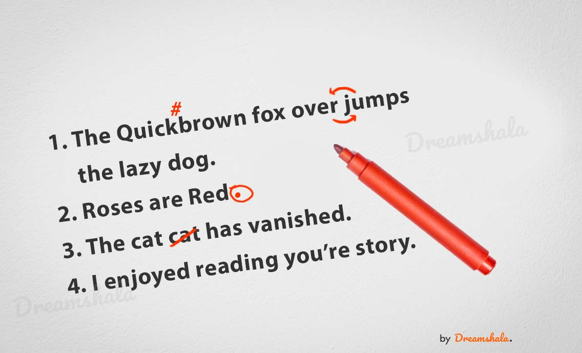 about proofreading