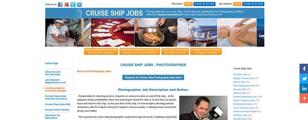 cruise ship board