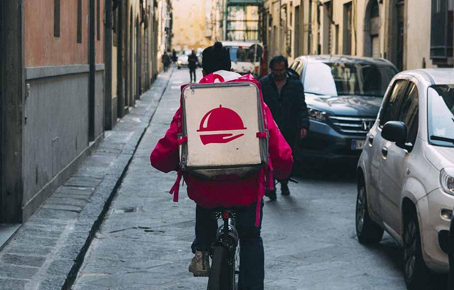 delivering stuff